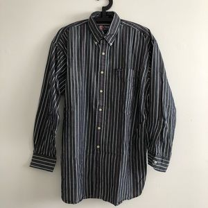 CHAPS RALPH LAUREN Striped Button Down